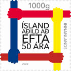 Iceland 50 years a member of EFTA