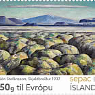 SEPAC 2020 – Artwork  from the National Gallery of Iceland - Jón Stefánsson – Skjaldbreiður 1937