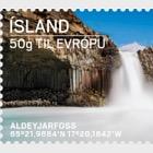 Tourist stamps II- Hafursey & Aldeyjarfoss