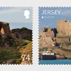 Europa 2017- Castles and Forts- (74p & £1.29 Stamp Europa)