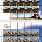 Europa 2017- Castles and Forts- (74p & £1.29 Sheetlet Europa)