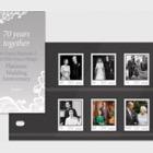 HM Queen Elizabeth II and HRH Prince Philip's Platinum Wedding Anniversary - (PP Set)