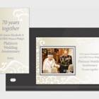HM Queen Elizabeth II and HRH Prince Philip's Platinum Wedding Anniversary - (PP M/S)