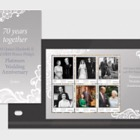 HM Queen Elizabeth II and HRH Prince Philip's Platinum Wedding Anniversary- (PP S/S)