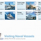 Jersey Post & Go - Visiting Naval Vessels