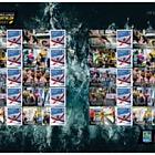 Island Games - Winners - Commemorative Sheet