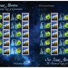 Sir Isaac Newton - Commemorative Sheet