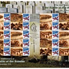 The 100th Anniversary of the Battle of the Somme - Commemorative Sheet