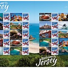 Welcome to Jersey - Commemorative Sheet