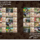 Jersey European Agility Festival - Commemorative Sheet