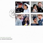 TRH The Duke & Duchess of Sussex - 1st Wedding Anniversary - FDC Set