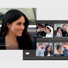 TRH The Duke & Duchess of Sussex - 1st Wedding Anniversary - PP Set
