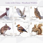 Links with China - Woodland Wildlife - S/S