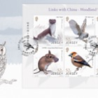 Links with China - Woodland Wildlife - FDC S/S