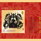 Lunar New Year 2020 - Year of the Rat - Postcard M/S