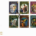 Charles Dickens 1812 - 1870 - FDC Set