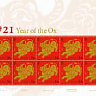 Lunar New Year 2021 - Year of the Ox - Sheet Mint