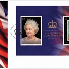 The 60th Anniversary Of The Queen's Coronation- (FDC M/S)