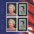 The 60th Anniversary Of The Queen's Coronation- (Sheet of 4 Stamps)