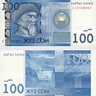 2016 100 KGS Billet de banque