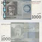 2016 1000 KGS Banknote