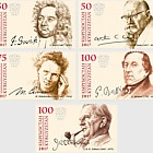 The Anniversaries of Great Personalities - (Set Mint)