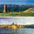 Joint Stamp Issue - Kyrgyzstan with Malta - (Set Mint)