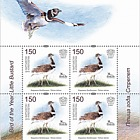 Bird of the Year - The Little Bustard - Sheetlet Mint