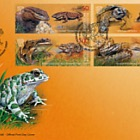 Kyrgyz Republic Red Data Book (II), Reptiles & Amphibians - FDC Set