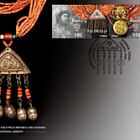 Joint stamp Issue Between Kyrgyzstan and Ukraine - Traditional Jewelry