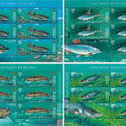 Kyrgyz Republic Red Data Book (III) - Fishes - Sheets Mint