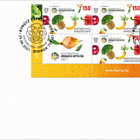 International Year of Fruits and Vegetables 2021 - FDC Se-tenant