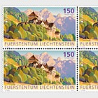 Europa 2017 – Palaces and Castles- (Block of 4 Mint)