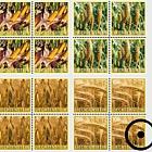 Crop Plants – Grain- (Block of 4 CTO)