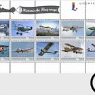 Historical Aeroplanes - 8th Official Collection Sheet