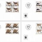 WWF - Returnees - (FDC Block of 4)