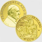 Vatican - 100 Euro Gold Commemorative Coin - The Evangelists, Saint Mark (2014)