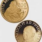 Vatikan - 200 Euro Goldmünze - Theologische Tugenden, Wohltätigkeit (2014)