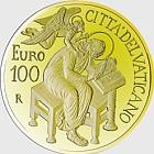 Vatikan - 100 Euro Goldmünze - Die Evangelisten, Matthäus (2015)
