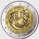 Vatican - 2 Euro Gold Commemorative Coin - 8th World Meeting of Families, Philadelphia (2015) - BU Version