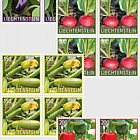 Crop Plants - Vegetables - (Block of 4 Mint)