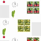 Crop Plants - Vegetables - (FDC Block of 4)