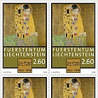 100th Anniversary of the Death of Gustav Klimt - (Block of 4 Mint)