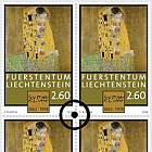 100th Anniversary of the Death of Gustav Klimt - (Block of 4 CTO)