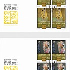 100th Anniversary of the Death of Gustav Klimt - (FDC Block of 4)