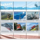 Swiss Mountain Railways - (Collection Sheet CTO)