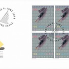 100 Years of Direct Suffrage - (FDC Block of 4)