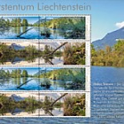 Nature Reserves in Liechtenstein - Halos - (M/S Mint)