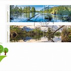 Nature Reserves in Liechtenstein - Halos - (FDC Set)