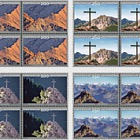 Summit Crosses – II - (Block of 4 Mint)